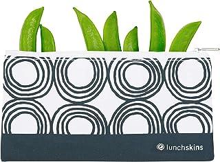 LunchSkins - Bolsa para alimentos, carbón, (Charcoal Circles), Storage Bag, 1