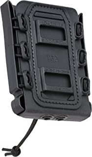 G-CODE Rifle Soft Shell Scorpion Mag Carrier (Black) with Belt Loop 100% Made in USA