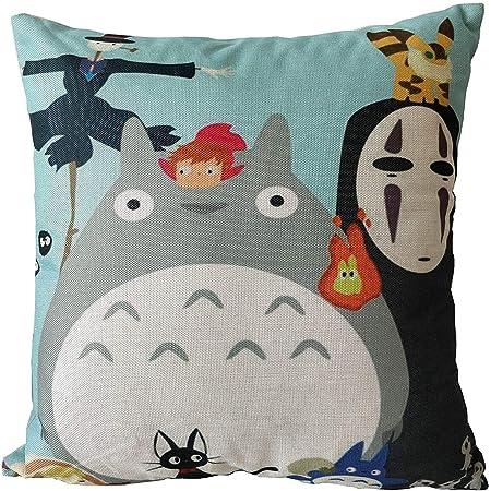 Demon Slayer Tomioka Giyuu Cushion Case 18x18 Inch GTIUSE-Store Cute Throw Pillow Covers for Birthday Gift Winter Decor Skin-Friendly Kids Pillowcases for Car Children Room