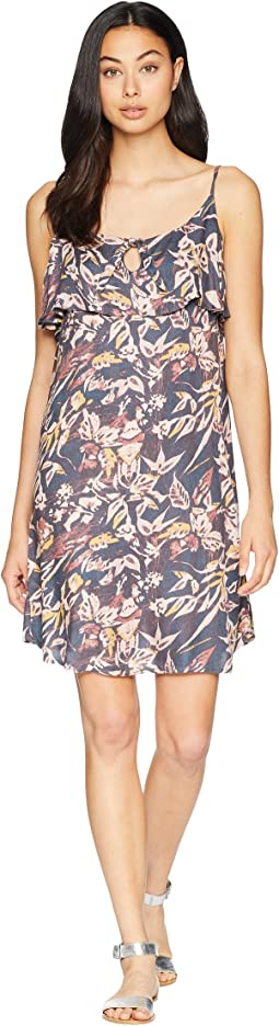 Still Waking Up Printed Dress