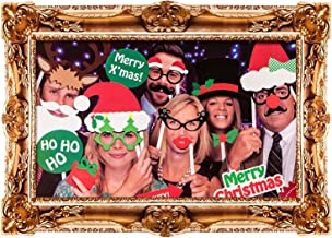 festive family photo booth