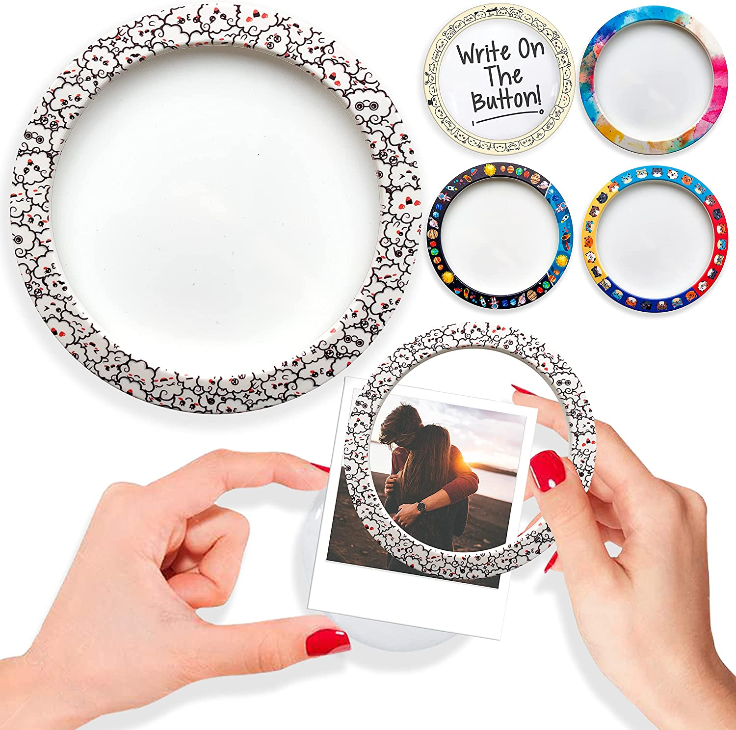 Picture Frame Fridge 67% OFF of fixed price Magnets Dry Whiteboard Erase Surface Offi excellence