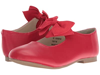 Amiana 6-A0919 (Toddler/Little Kid) (Red PU) Girl