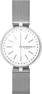 Skagen Signature White Stainless Steel Hybrid Smartwatch SKT1400