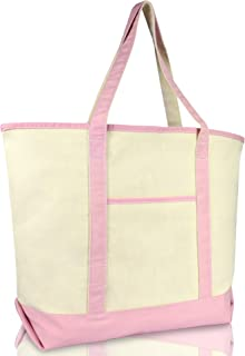 Best pink canvas tote Reviews