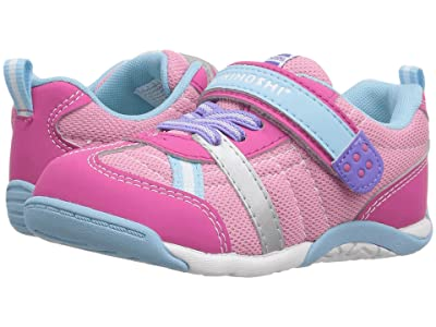 Tsukihoshi Kids Kaz (Toddler/Little Kid) (Fuchsia/Light Blue) Girl