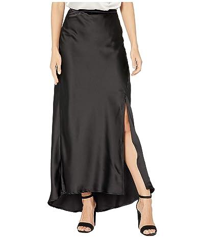 Bishop + Young Bias Slip Skirt (Black) Women