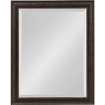 Kate and Laurel Aldridge Framed Wall Mirror, 22x28, Bronze
