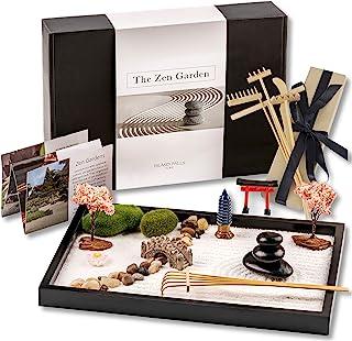 Island Falls Home Zen Garden Kit. 11x8 inch Beautiful...