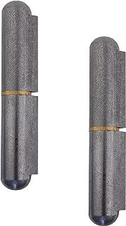 Gedotec Deurscharnier voor het lassen van metalen bevestigingsbanden 2-delig voor metalen deuren   lasscharnier hoogte: 18...