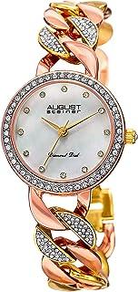 August Steiner Minimalist Dial Fashion Dress Watch