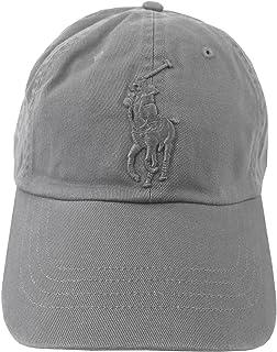 قبعة بيغ بوني تشينو للرجال من بولو رالف لورين، رمادي