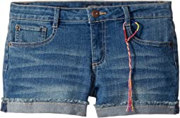 Riley Denim Shorts in Ada Wash (Little Kids)