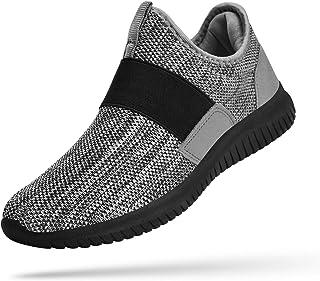 Amazon.com: no lace sneakers men