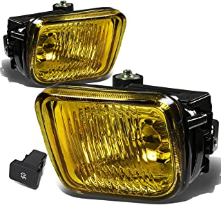 For Honda Civic Driving Bumper Fog Light+Bulbs+Switch (Amber Lens) - 6th Generation EJ EM EK D16