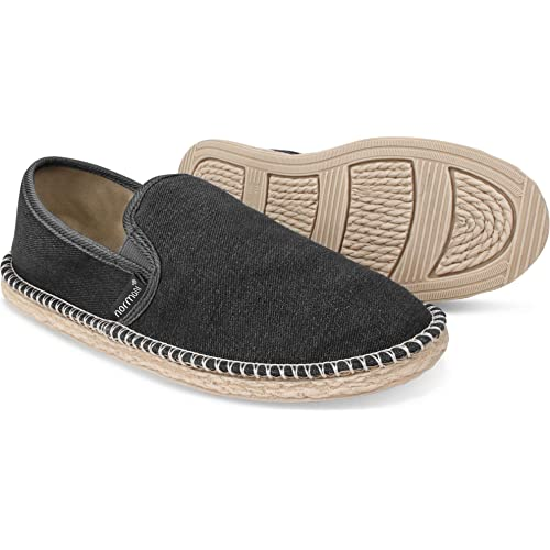6079fd894a966 normani Sommer Schuhe - Klassische Espadrillas - Flache Stoffschuhe -  Freizeitschuhe für Damen und Herren