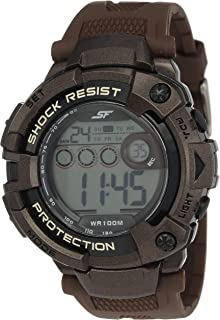 Ocean Series II Digital Grey Dial Men's Watch -NH77010PP01