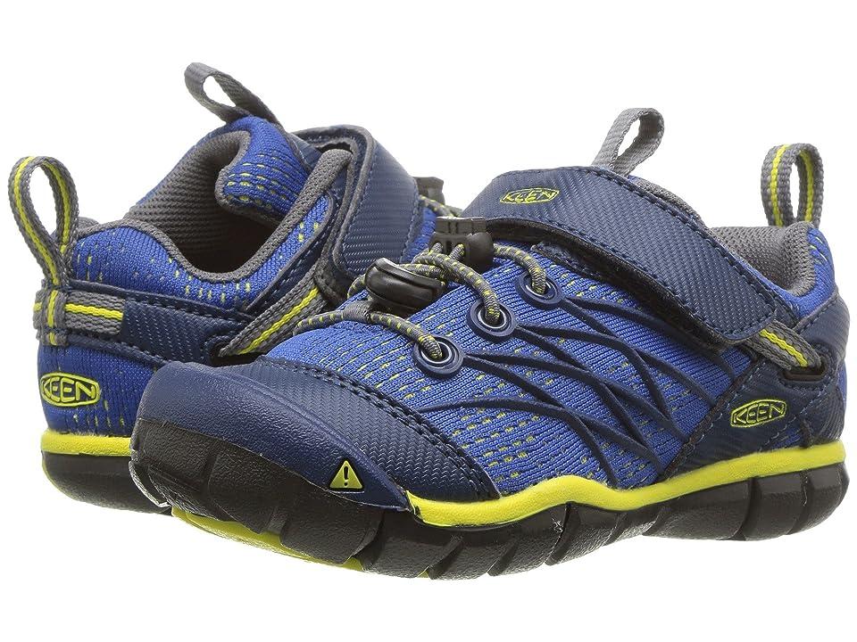 Keen Kids Chandler CNX (Toddler/Little Kid) (Blue Opal/Baleine) Boys Shoes