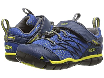 Keen Kids Chandler CNX (Toddler/Little Kid) (Blue Opal/Baleine) Boys Shoes