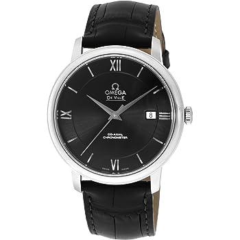 [オメガ] 腕時計 デ・ビル ブラック文字盤 コーアクシャル自動巻 クロノメーター 424.13.40.20.01.001 並行輸入品 [並行輸入品]