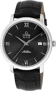 [オメガ] 腕時計 デ・ビル ブラック文字盤 コーアクシャル自動巻 クロノメーター 424.13.40.20.01.001 並行輸入品