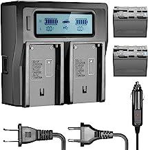 Andoer Batterie adaptateur plaque de Base pour les moniteurs Lilliput FEELWORLD Compatible pour Sony NP-F970 F550 F770 F970 F960 F750 batterie