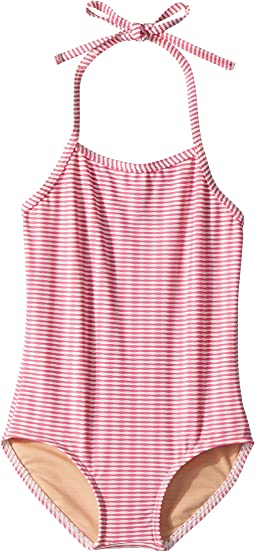 Lollipop Pink One-Piece Swimsuit (Infant/Toddler/Little Kids/Big Kids)