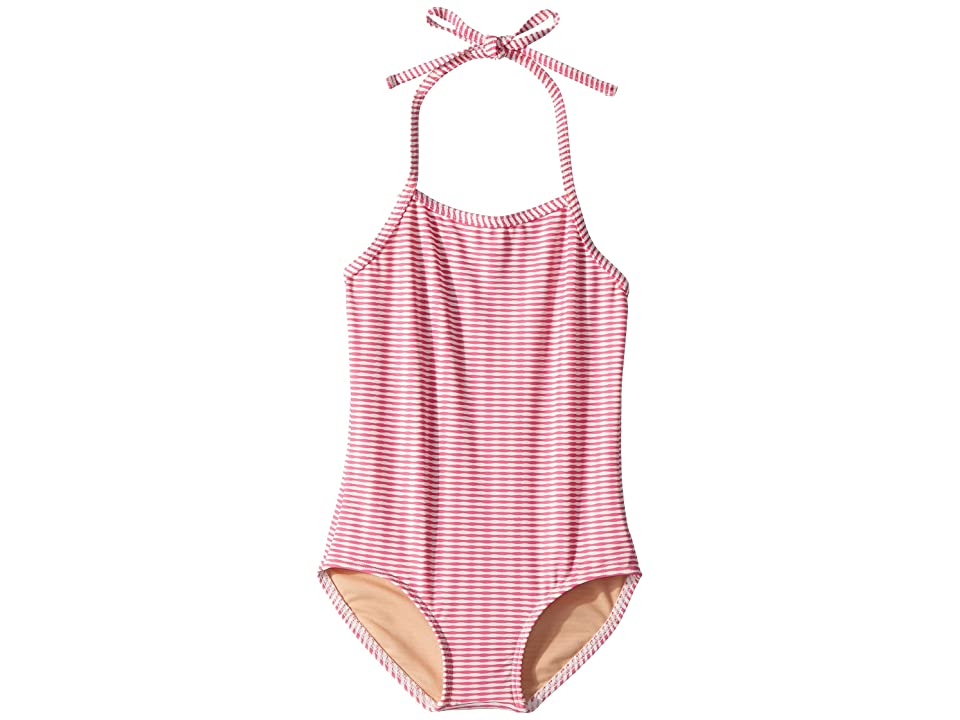 Toobydoo Lollipop Pink One-Piece Swimsuit (Infant/Toddler/Little Kids/Big Kids) (Pink) Girl