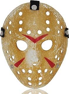 ALIZIWAY Mask Halloween Costume Cosplay Voorhees Hockey Mask
