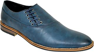 Lee Fox Pure Leather Blue Casual Shoe