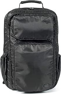 Lug Backflip Backpack, Brushed Black Backpack