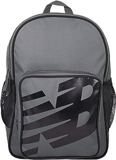 New Balance Men`s and Women`s Sporty Backpack 600D Polyester Plain Weave, New Balance Logo Padded Strap Bag