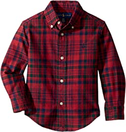 Polo Ralph Lauren Kids - Plaid Cotton Oxford Shirt (Toddler)