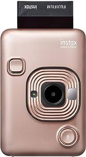 Fujifilm Instax Mini Liplay Hybrid Cámara instantánea – Blush Gold