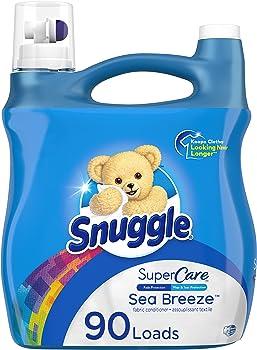 Snuggle SuperCare 95oz Liquid Fabric Softener (Sea Breeze)