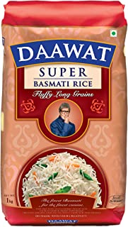Daawat Super Basmati 1kg, (25% Extra)
