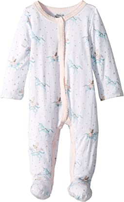 Mud Pie - Unicorn Long Sleeve Footed Sleeper (Infant)