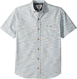 VISSLA Kids - Distortion Woven Top (Big Kids)