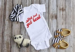 Baby Announcement Bodysuit, Pregnancy Announcement funny gift to husband, family, etc.