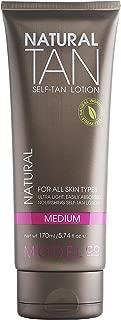 MODELCO Self Tanner   Sunless Natural Tanning Lotion   Medium   5.74 fl oz (170 ml)