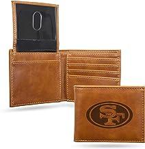 NFL Rico Industries Laser Engraved Billfold Wallet, San Francisco 49ers