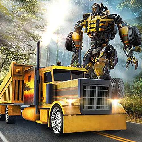 Offroad Truck Robot Transform Simulator 3D: Rescue Bots Transformation Robo City Hero Adventure Game Free For Kids