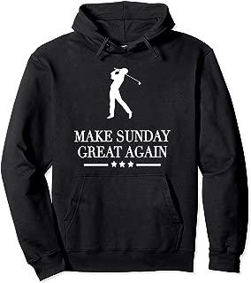 Make Sunday Great Again Golf Hoodie
