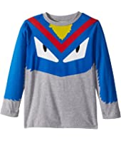 Fendi Kids - Long Sleeve Monster Eyes Graphic T-Shirt (Little Kids)