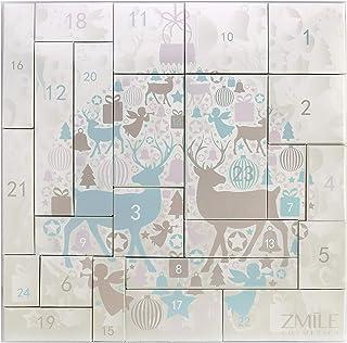 Zmile Cosmetics Puzzle - Calendario de Adviento (44 g), diseño de renos