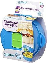 Sistema Easy Eggs to Go Microwave Egg Cooker, Random Colour