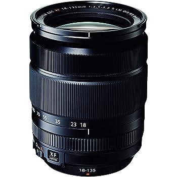 Fujinon XF18-135mmF3.5-5.6 R LM OIS WR Zoom Lens by Fujifilm - Black