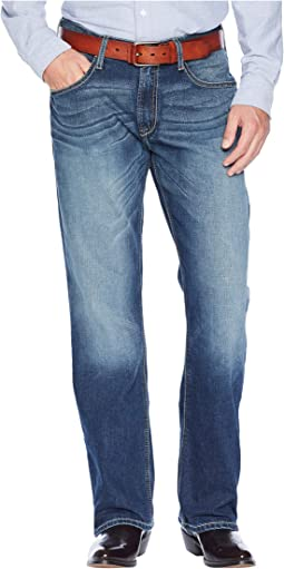 M4 Relaxed Bootcut Jeans in Cinder