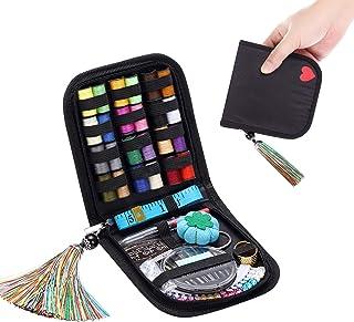 裁縫セット ソーイングセット WEIFEI 裁縫道具セット 手縫い糸 24種類カラー鮮やかな縫い糸 刺繍/手芸/裁縫 家庭用ソーイングセット おしゃれ/かわいい 小学生/大人 プロ裁縫道具 ミニ/携帯式 学校/家庭用