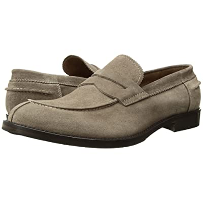 eleventy Sueded Penny Loafer (Camel) Men